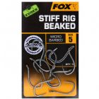 Fox Edges Stiff Rig Beadked Hooks